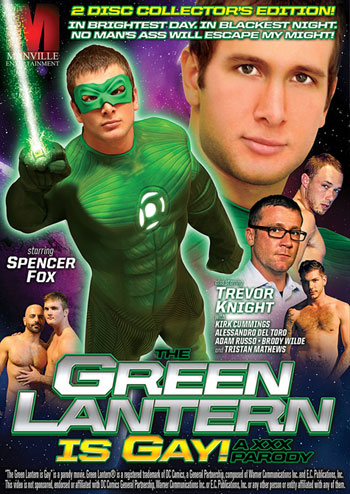 The Green Lantern is Gay!